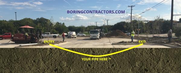 Construction Boring Contractors San Bernardino, CA